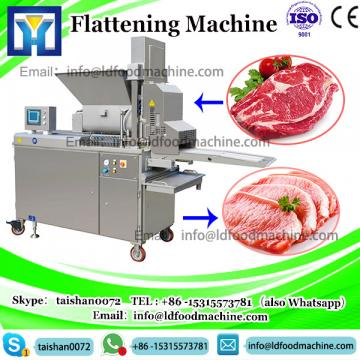 Inligent beef chicken meat Flattening machinery