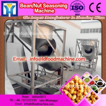 Batch coated peanut flavoring machinery / seasoning machinery