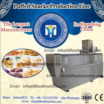 Small business use mini Puffed corn wheat snacks food extruder