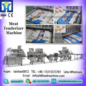 Automatic chicken meat pieces slicer machinery