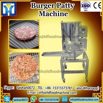 Hamburger meat forming machinery