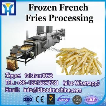 semi auto frozen french fries make machinery