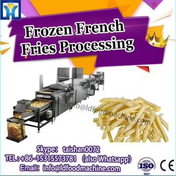 small scale semi automatic french fries production line