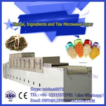 Industrial microwave herb leaves dryer/microwave tea drying machine/food sterilizer