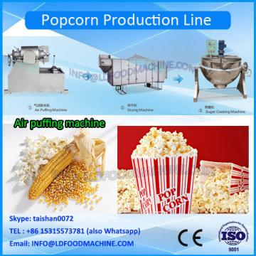 Chinese Hot Air Caramel And Savory Commercial Popcorn machinery