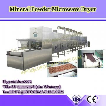 Malaysia food processing machinery microwave pepper powder dryer