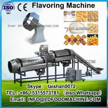 China manufacturer wooden case package flavoring machinery/snack flavoring machinery