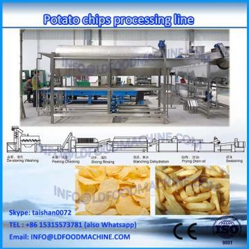 full automatic fresh potato chips make machinery frozen french fries maker