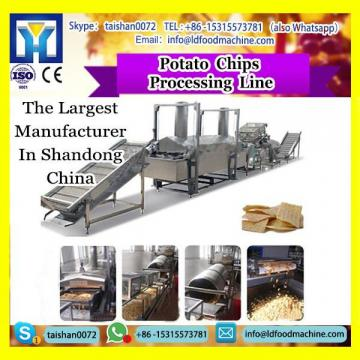 2017 hot sales semi automatic fresh fried food potato chips make machinery