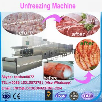Best quality frozen food meat thawing machinery/vegetable unfreezing machinery/frozen meat thaw machinery