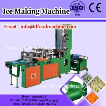 Commercial swirl fruit ice cream maker, fresh fruit ice cream blending machinery