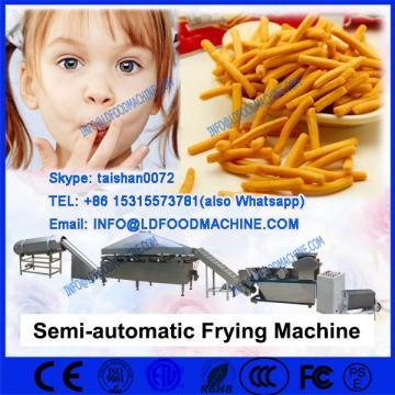 Batch frying machinery for fried peas, peanuts