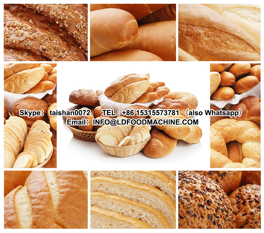 Commercial bread machinery / industrial bakery equipment / bread make machinery