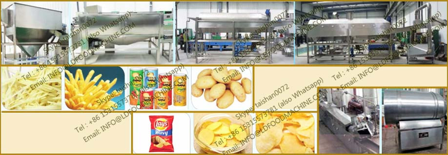frozen french fries production line-Capacity 1000kg/h