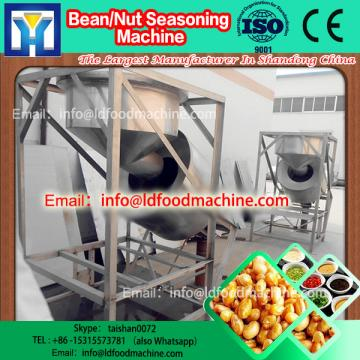 Stainless steel large Capacity continuous seasoning machinery, beans flavoring equipment with CE /ISO9001