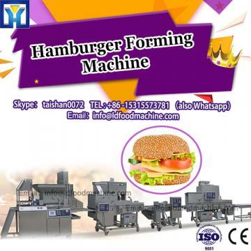 Burger machinery