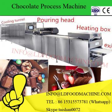 Automatic milk chocolate bar make depositing machinery