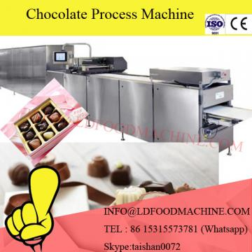 Hot sale stainless steel chocolate coating machinery/chocolate enroLDng candy bar production line