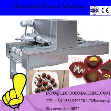 Chocolate moulding machinery / filling center chocolate bar production line