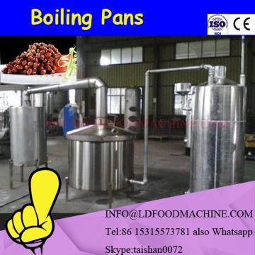 gas heating tiLDing stainless steel jacketed kettle