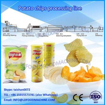 potato chip make machinery potato Crispyprocessing line / french fries make machinery