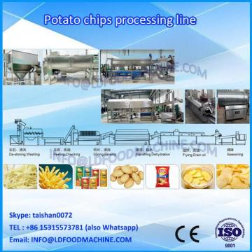 2018 New French fries potato chips production line/french fries processing equipment