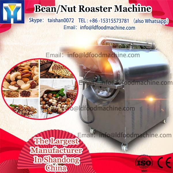 100kg Gas heating Industrial Peanut Roasting machinery/cocoa bean roasting machinery