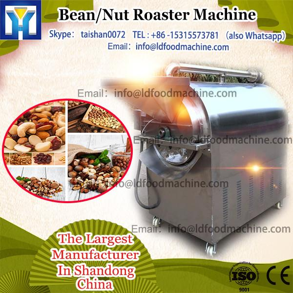 LQ-100GX gas heating stainless steel soybean roasters industry used with ce certificate