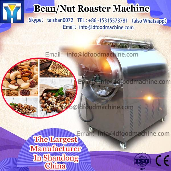 electric drum roller almond roaster machinery with far infrared heater