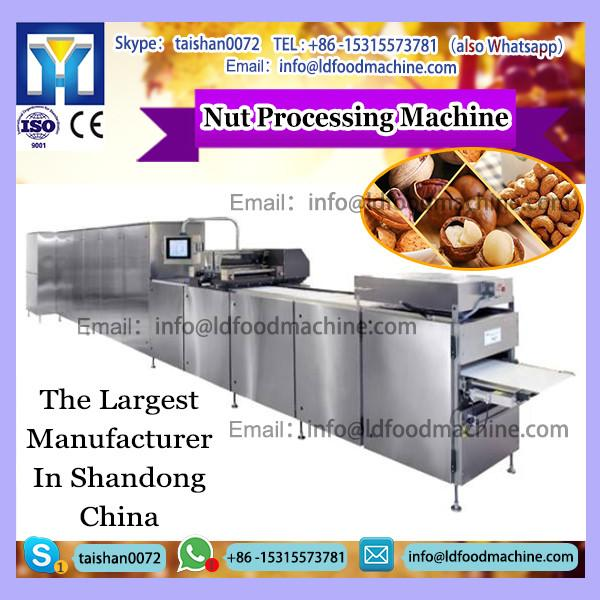 Durable and compact industrial hazelnut cracLD machinery