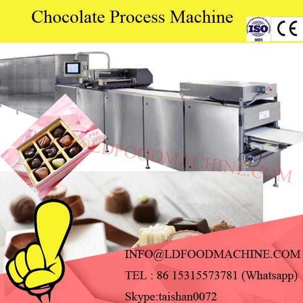 chocolate processing machinery for coating chocolate