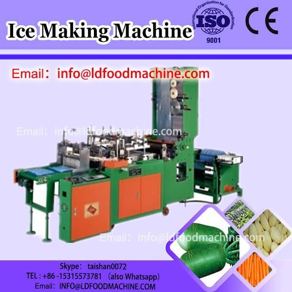 Commercial swirl fruit ice cream maker, fresh fruit ice cream blending machinery